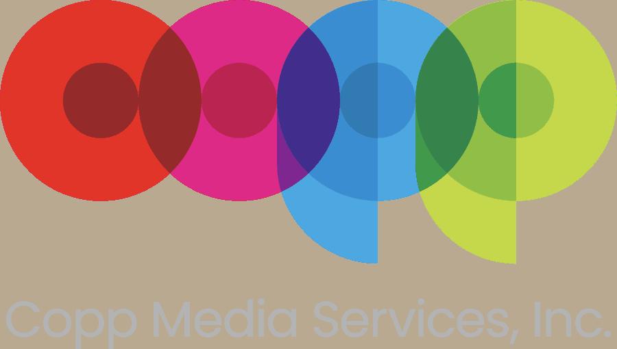 Copp Media Logo Tagline